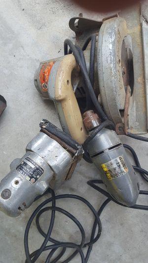 Antique black&Decker power tools for Sale in Hudson, FL