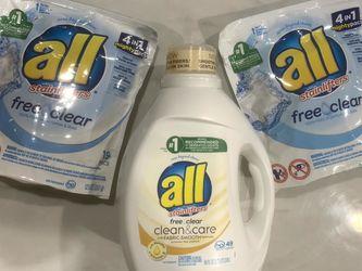 All Detergent Bundle-$10 for Sale in Hacienda Heights,  CA