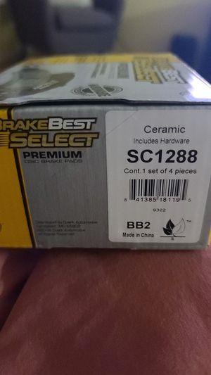 BrakeBest Select Ceramic Rear Disc Brake Pads Part #SC1288 for Sale in Buckeye, AZ