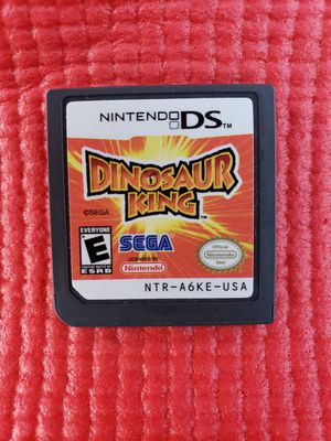 Dinosaurs king Nintendo ds for Sale in Norwalk, CA