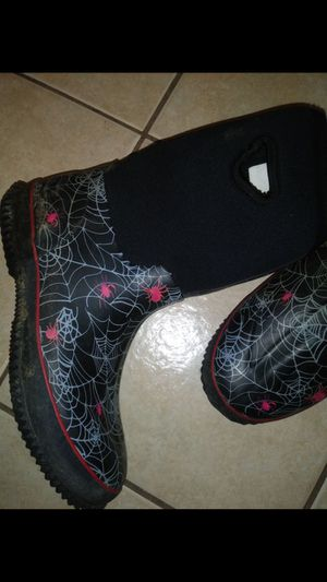 Good condition Spider Rain boots size 7-8 $40 for Sale in Mesquite, TX