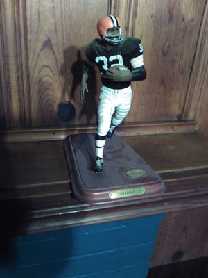 Jim Brown collectible statue for Sale in University Heights, OH