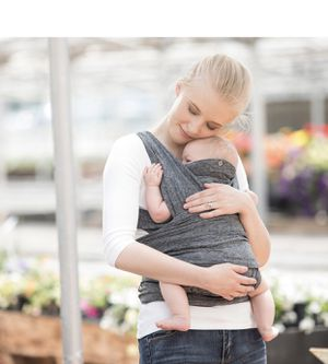 Boppy Comfy Fit Baby Carrier in Heather Gray for Sale in St. Louis, MO