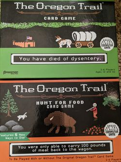 Oregon Trail Card Game + Expansion for Sale in San Jose,  CA