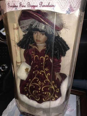 Antique Bisque Porcelain Doll for Sale in Wake Forest, NC
