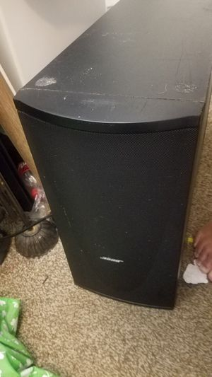 Bose Subwoofer no reciever ethernet like input RJ-45 for Sale in Canton, MI