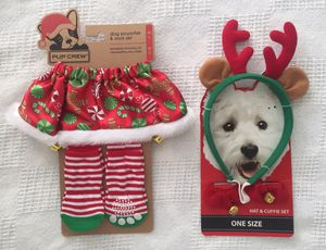 Dog Christmas Accessories - M/L for Sale in Redwood City, CA