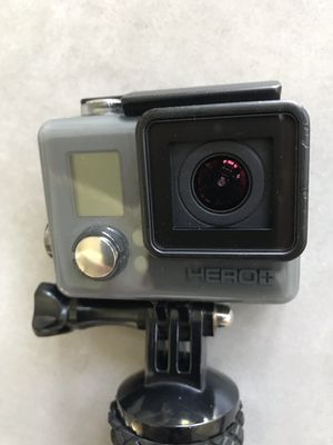 GoPro Hero Plus with float grip handle, case, instructions for Sale in Sterling, VA