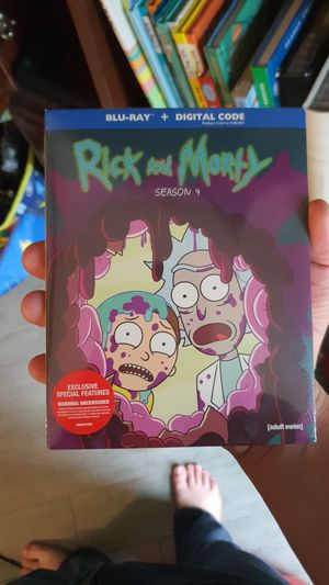 Rick and Morty Season 4 Bluray for Sale in Casselberry, FL
