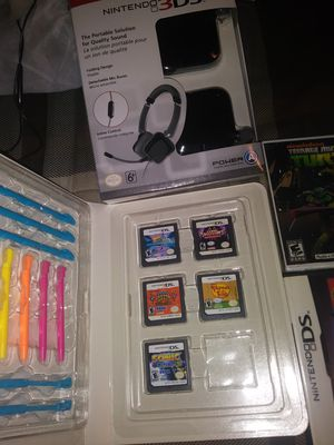 Ds and 3ds games and headphones for Sale in Providence, RI