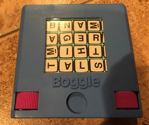 Vintage antique 1980s Tavel boggle game games bored toys kids collector for Sale in Rancho Cucamonga, CA