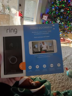 Ring video door bell new never opened for Sale in Chandler, AZ