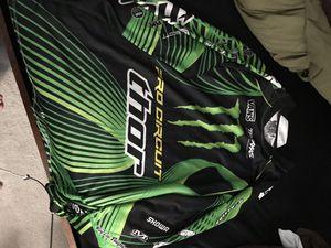 Large monster Kawasaki green motorcycle racing shirt. for Sale in Lake Worth, FL