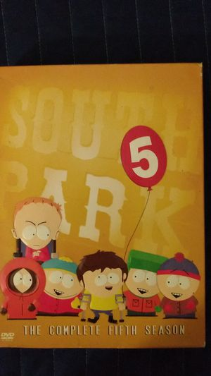 South Park Complete 5th season for Sale in Bellflower, CA