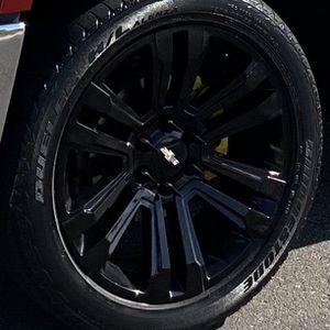 Chevy rims 22 6 Lug for Sale in Bassett, CA