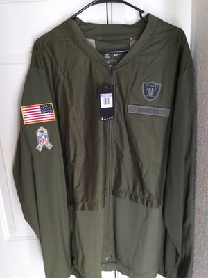 Nike Salute To Service Raiders Jackets for Sale in Las Vegas, NV