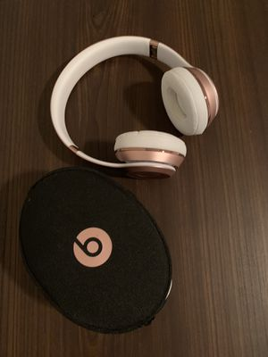 Rose Gold Beats Solo 3 for Sale in Austin, TX