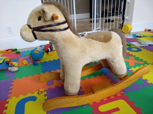 Mint condition genuine Pottery Barn Rocking Horse for Sale in US