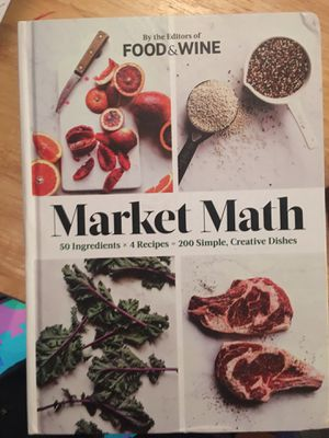 Market Math by Food and Wine for Sale in Bloomingdale, IL