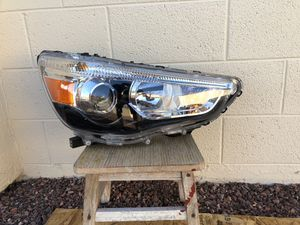 2011 - 2018 Mitsubishi Outlander Sport OEM headlight, passenger side, front headlamp, front light, car parts, auto parts for Sale in Glendale, AZ