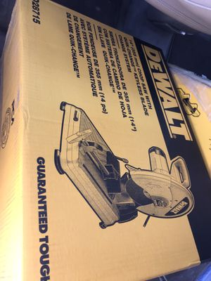 Dewalt chop saw for Sale in Auburn, WA