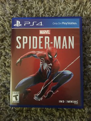 Spider-Man PS4 for Sale in Lewisville, TX