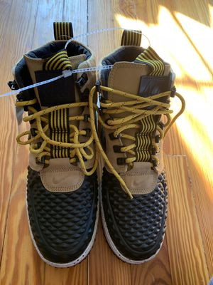 Nike lunar af1 Duckboot black & Gold for Sale in Washington, DC