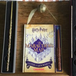 Barely Used Harry Potter Wands, Marauder's Map & Snitch for Sale in Miami,  FL