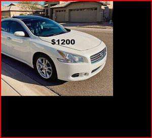 Price$1200 Nissan Maxima for Sale in Peoria, IL