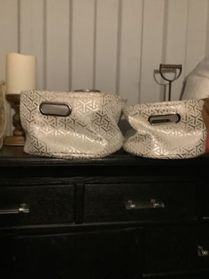 2 storage baskets / glamorous decor / glamour / glam / baby girl decor for Sale in National City, CA