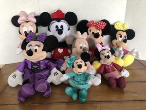 Disney Minnie Mouse plush lot for Sale in College Grove, TN