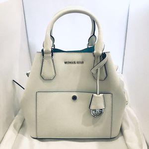 White Michael Kors Tote Handbag Almost New for Sale in Delray Beach, FL