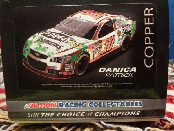 2013 Danica Patrick diecast car copper