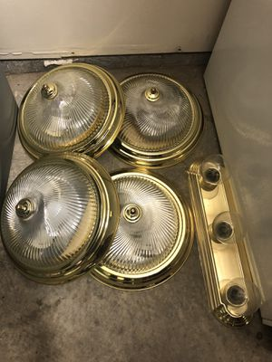 Gold light fixtures for Sale in Nashville, TN