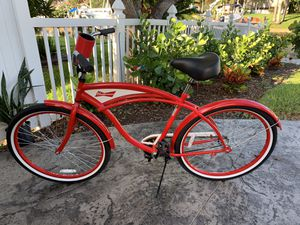Budweiser Beach Cruiser Bike for Sale in St. Petersburg, FL