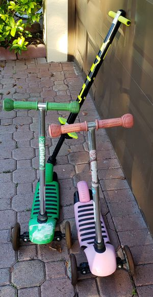 2 Scooters & 1 Pogo Stick for Sale in Pembroke Pines, FL