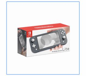 Nintendo Switch Lite - Gray Bundle with Mario 3D and Goosebumps Game and Travel Case for Sale in Oakland Park, FL