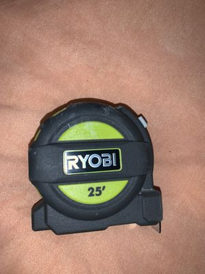 25 feet RYOBI measuring for Sale in Fresno, CA