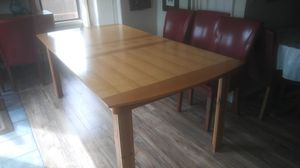 Wood Dining Table for Sale in Tacoma, WA
