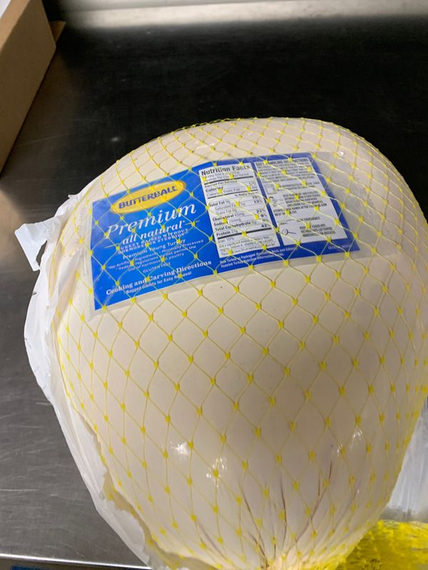 Fresh frozen butterball premium turkey got 2 by accident need gone today