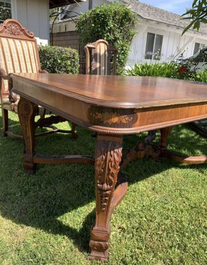 Antique dining table for Sale in Orange, CA