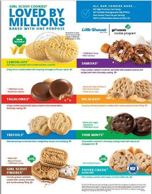 Girl Scout COOKIES 🍪 are back!!!!! for Sale in Chula Vista, CA