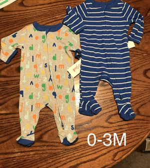 New Baby Boy Pajamas 0-3 months for Sale in Long Beach, CA