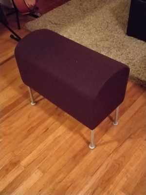 Purple felt saddle bench seat for Sale in Seattle, WA