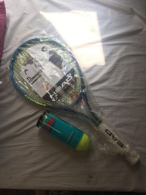 Tennis Racket and Balls BRAND NEW for Sale in New York, NY