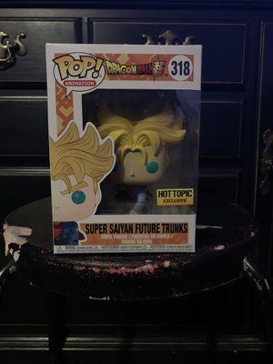 Dragonball Z Funko Pop Trunks Super Saiyan for Sale in Vallejo, CA