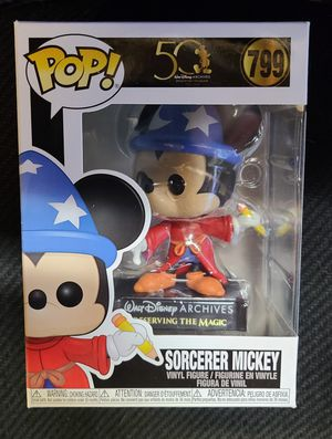 """FUNKO: SORCERER MICKEY (DISNEY 50 YR ARCHIVES) """"PRESERVING THE MAGIC"""" 🔥 (MINT CONDITION/INCL PROTECTOR) **AVAILABLE** for Sale in Philadelphia, PA"""