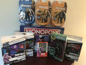 Large Lot of Fortnite Toys. Value over 150.00 for Sale in East Providence, RI