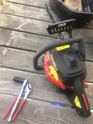 Chainsaw runs good for Sale in Chelmsford, MA