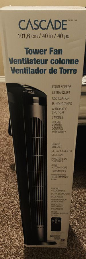 New cascade tower fan for Sale in Palmdale, CA